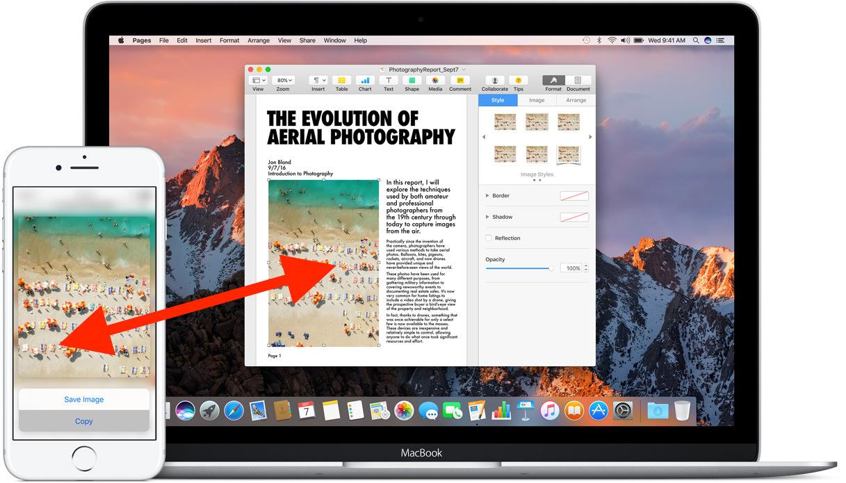 Appunti universali tra Mac e IOS
