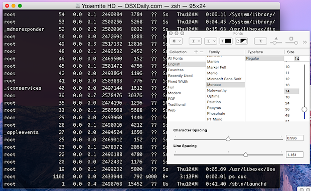 aumentare-interlinea-terminal-mac