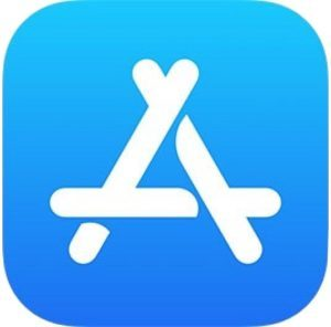 Logo App Store in iOS