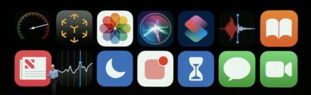 Icone iOS 12