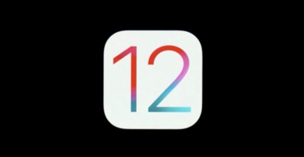 icona iOS 12