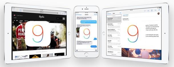dispositivi iOS 9