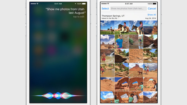 Ricerca immagini siri per iOS 9