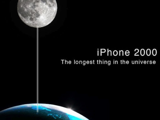 iPhone 2000 alla luna