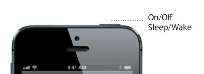 Tasto di accensione / spegnimento / accensione iPhone 5