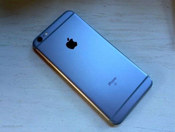 L'iPhone 6s Plus è un biscotto robusto, in grado di gestire il contatto con l'acqua e gocce ragionevoli
