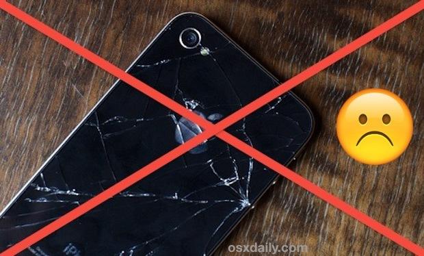 un iPhone rotto spesso non si carica a causa di danni