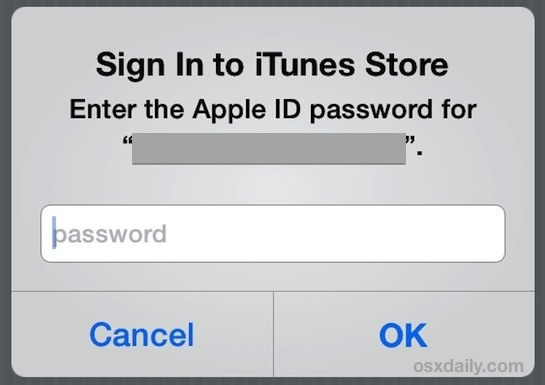 Conferma il tuo ID Apple con le impostazioni di iTunes