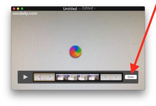 Unisci file di film insieme su un Mac con Quicktime