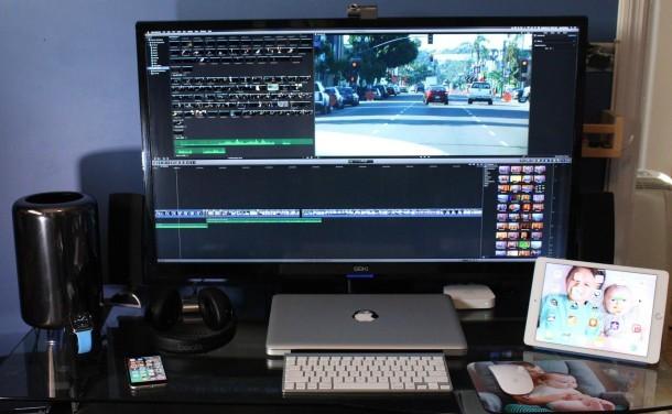 Mac Pro w 4K Configurazione del display di Director Display