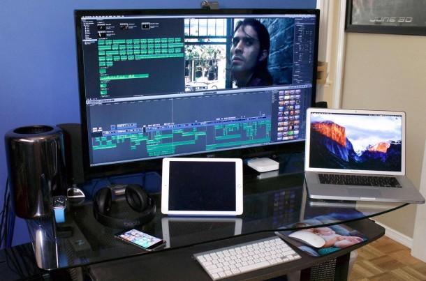 Configurazione Mac Pro di un regista