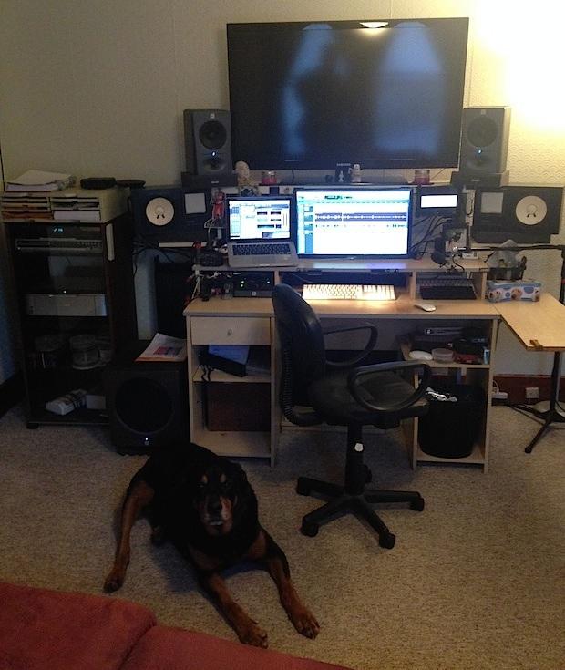 Workstation Mac di progettazione audio