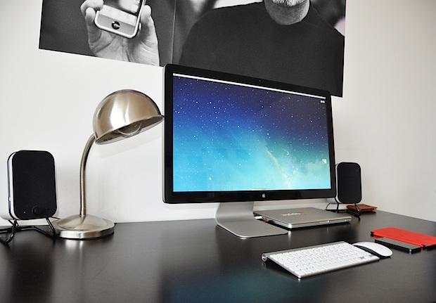 Desk di montaggio per editor di video per Mac
