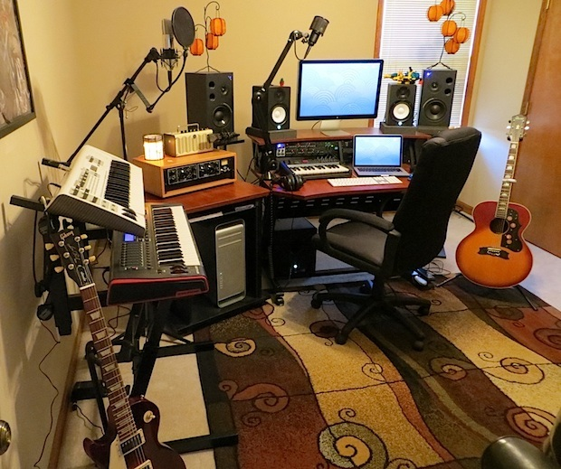 Studio musicale Mac Pro