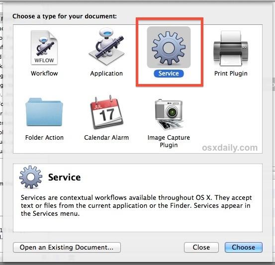 Creare un servizio di automazione
