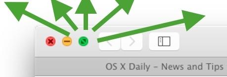 Ridimensionamento istantaneo di una finestra in OS X