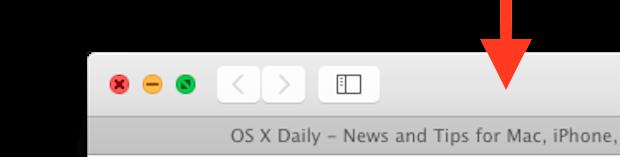 Fare doppio clic per ingrandire una finestra in Mac OS X