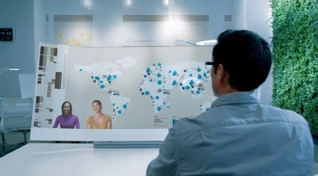 Microsoft futuro touch desk