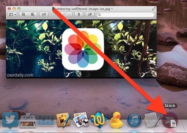 Trascina e rilascia l'icona di un proxy in una nuova icona dell'app per aprirla