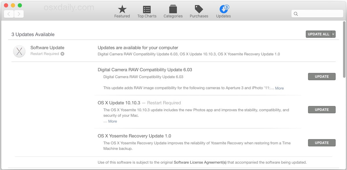 OS X 10.10.3 Download dell'aggiornamento disponibile per tutti gli utenti Mac