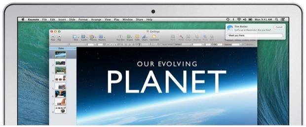 Rispondi alle notifiche in OS X