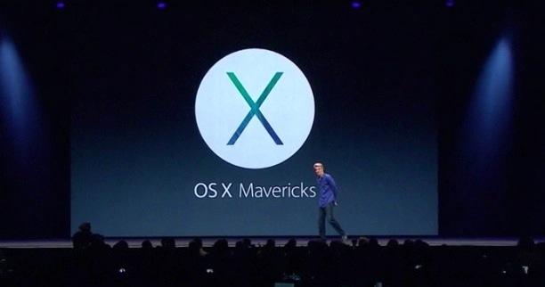 Annunciato OS X Mavericks