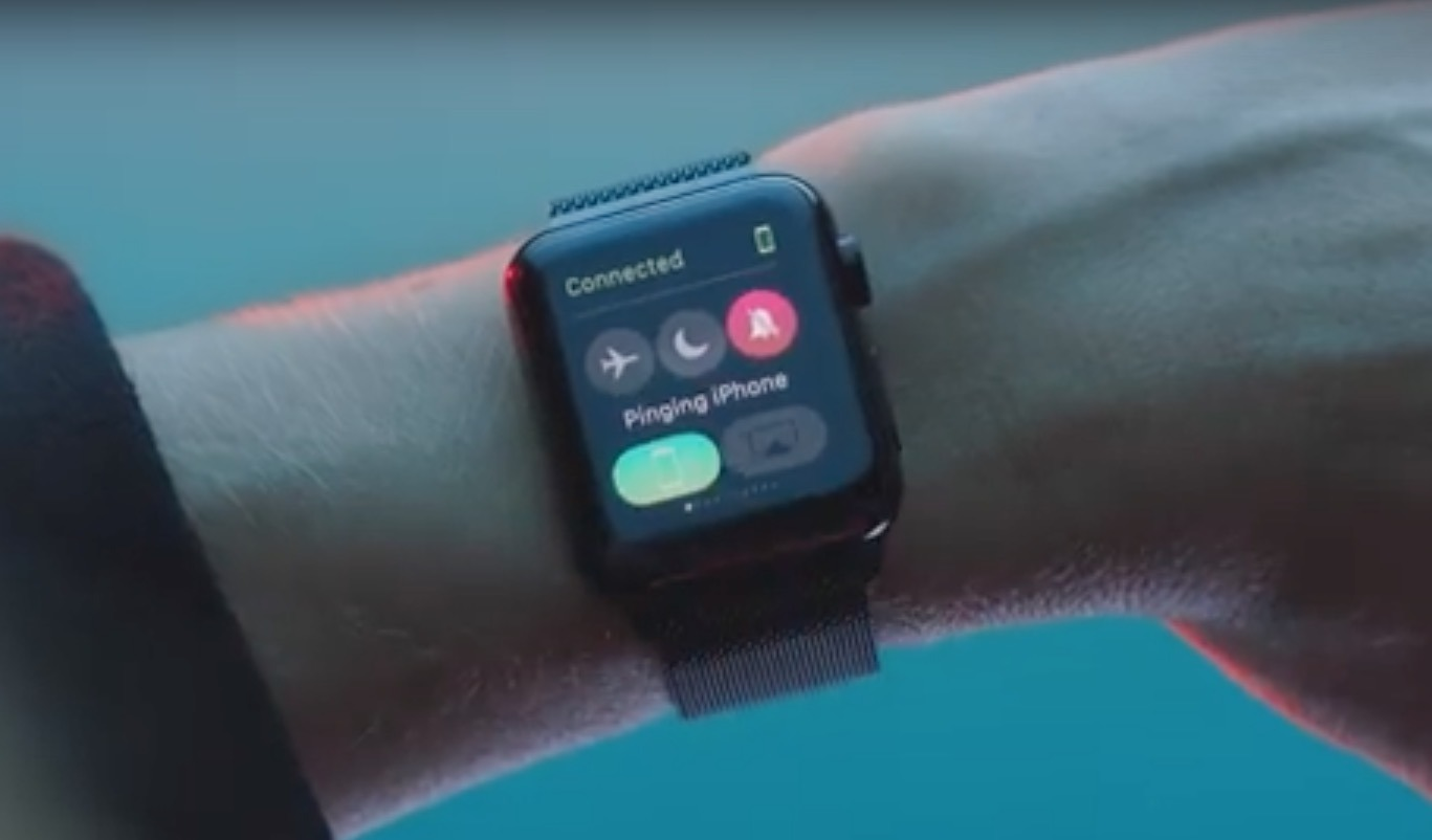 Ping un iPhone da un Apple Watch