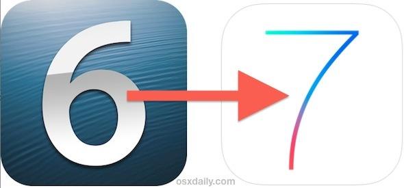 Aggiornamento a iOS 7 nel modo giusto