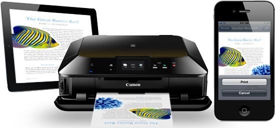 Ottieni più opzioni di stampa con le app di Print Manufacturer per iOS