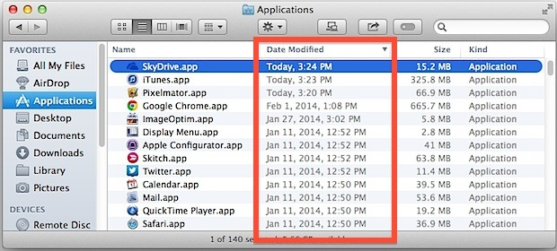 Trova app nuove e aggiornate in Finder