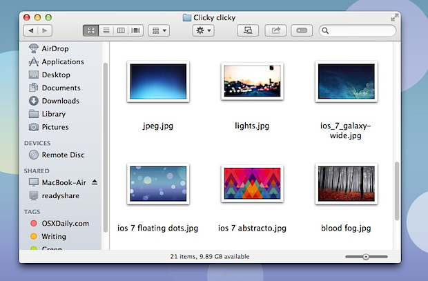 Tema bianco in Mac OS X