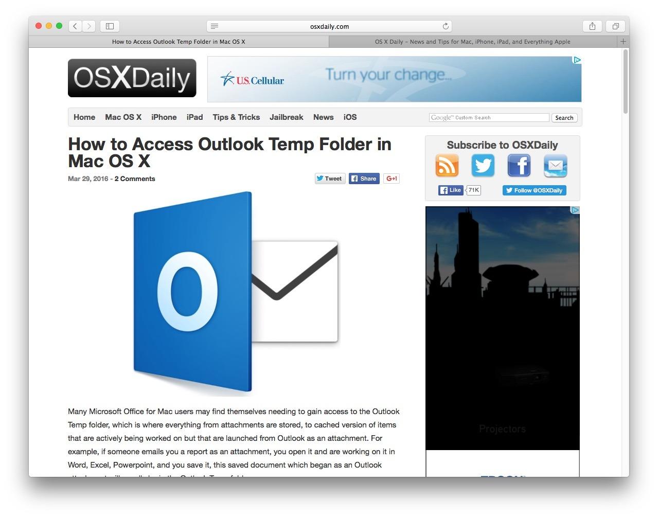 Safari Tech Preview in Mac OS X