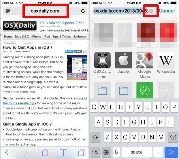 Cerca testo nelle pagine Web in Safari iOS 7