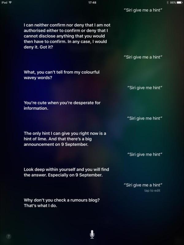 Siri, dammi un suggerimento