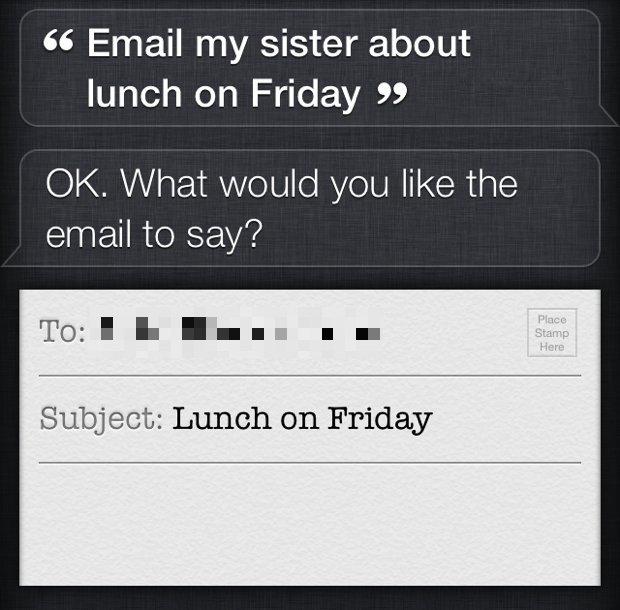 Usa i comandi di relazione con Siri