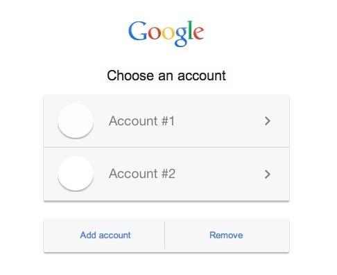 Passaggio da un account Google