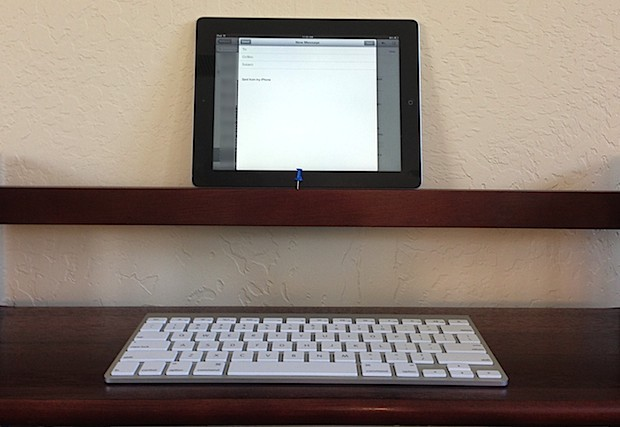 Scrittoio istantaneo per iPad