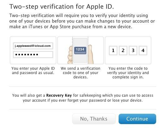 Imposta la verifica in due passaggi per gli ID Apple