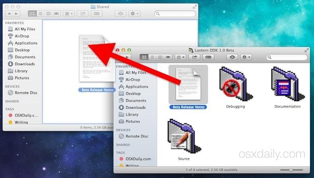 Condividi i file tra gli account utente Mac sullo stesso Mac