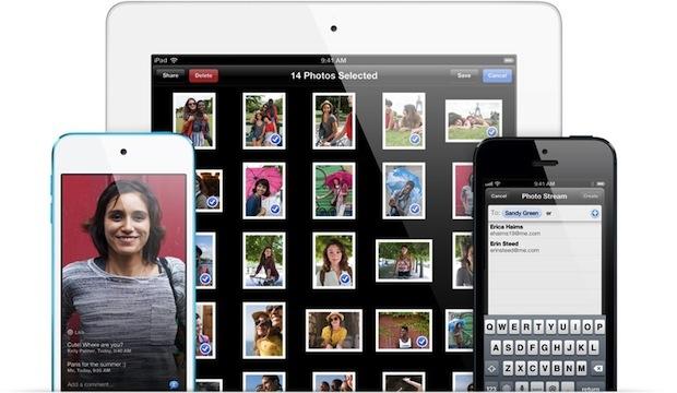 Stream fotografici condivisi in iOS