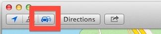 Abilita il giornalista dell'incidente sul traffico in Maps per Mac OS X
