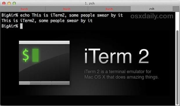 iTerm2 per le prestazioni