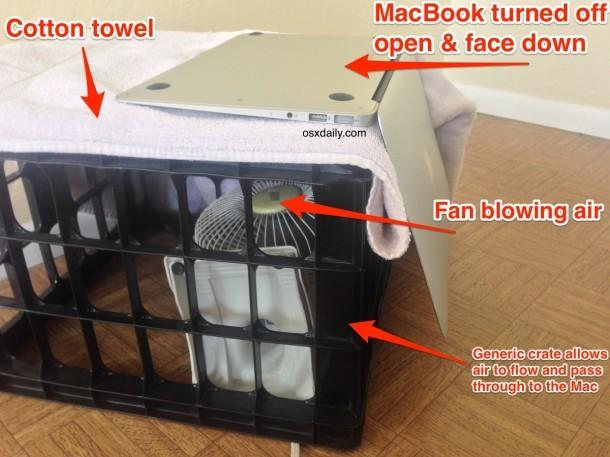 Forse risparmia un MacBook Air dai danni causati dall'acqua