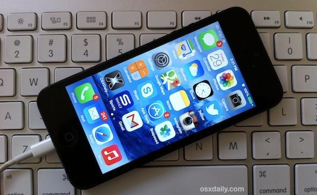 Interrompe il ridimensionamento degli sfondi in iOS 7