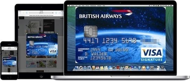 Riempimento automatico carta di credito di Safari abilitato