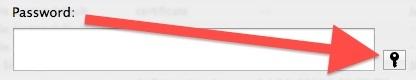 Apri Password Assistant in OS X