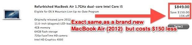 Sconto Mac rinnovato, anche sui nuovi modelli Mac più recenti