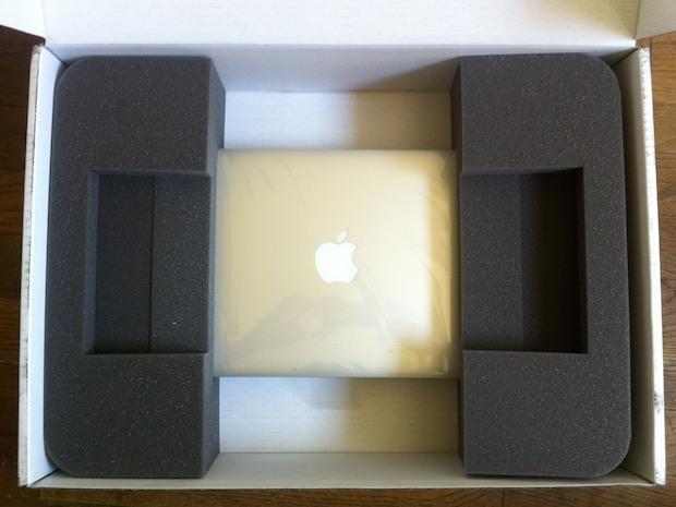 Apertura della scatola rinnovata con MacBook Air