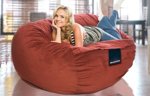 Poltrona beanbag gigante Sumo