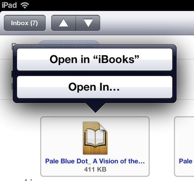 Trasferisci e apri ePub su un iPad